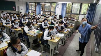 Vuhanban az érettségiző diákok újra járhatnak iskolába