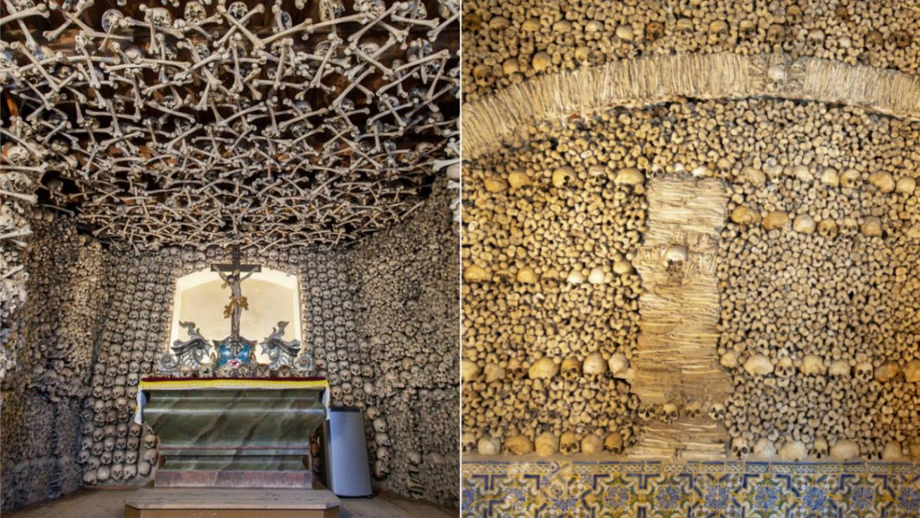 Emberi csontokból emelték a különleges épületeket: a monumentális templomoktól a rejtélyes falakig