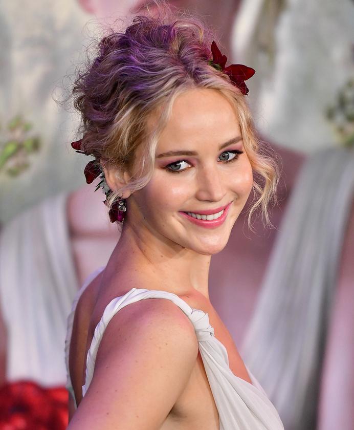 """Jennifer LawrenceA """"tüzes lányt"""" 2012-ben ismerte meg a világ"""