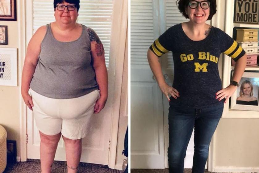 Hihetetlenül megfiatalította ezt a nőt 72 kilós fogyása: mozgással, főként biciklizéssel és sok sétával érte el ezt a csodás eredményt.