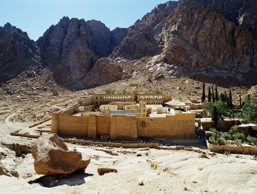 szent katalin kolostor sinai hegy