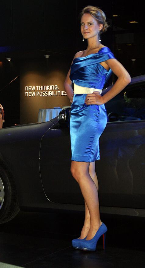 Hyundai-éknál is minden kékbe öltözött