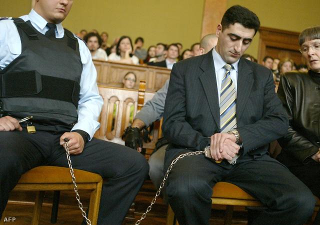 Ramil Safarov ítélethirdetése 2006-ban.