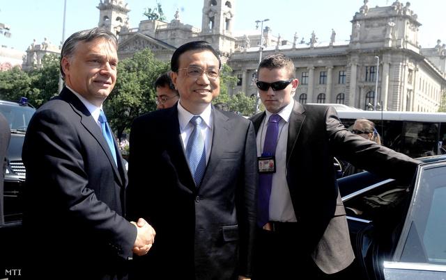 Idén május elsején Li Ko-csiang kínai miniszterelnök-helyettessel.