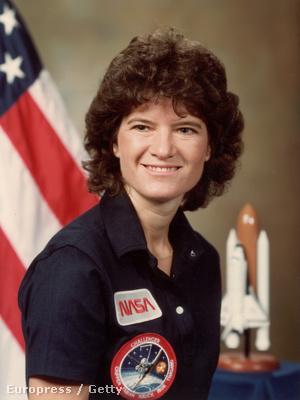 Sally Ride, az első amerikai női űrhajós
