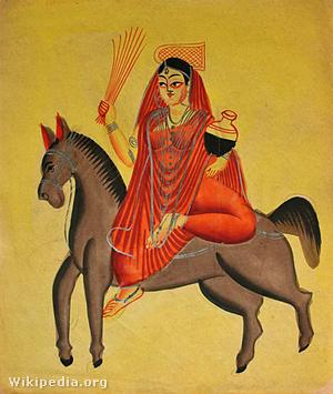 A vírusnak Indiában saját istene volt