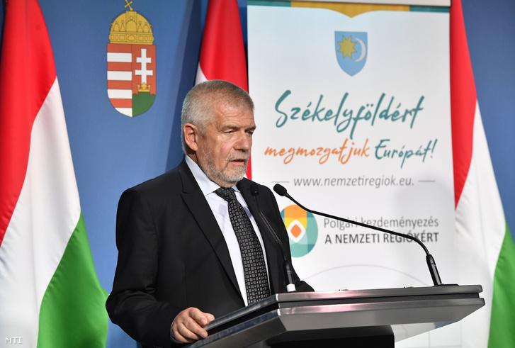 Izsák Balázs, a Székely Nemzeti Tanács (SZNT) elnöke
