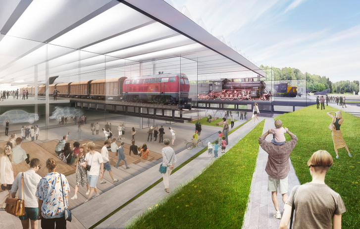 A Diller Scofidio + Renfro nyertes terve a Dieselcsarnok átalakítására Az új Közlekedési Múzeum a Kőbányai út és a Könyves Kálmán körút sarkán
