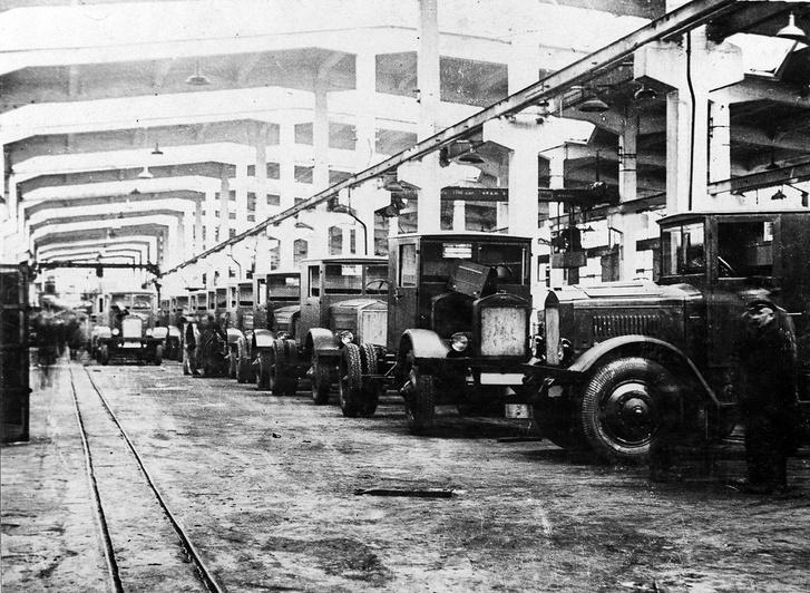 A GAZ-gyár a harmincas években