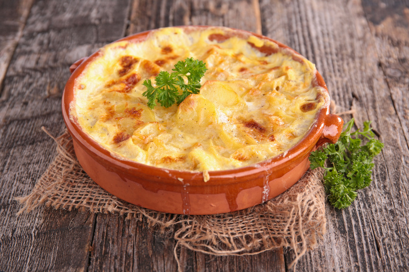 tejszínes krumpli recept