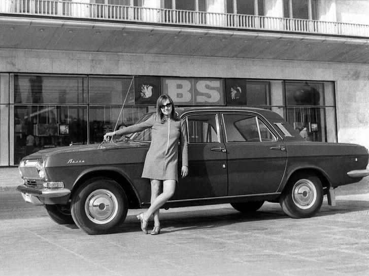 Amikor Gorkij lehagyta Detroitot - legalábbis pezsgésben: Volga M-24