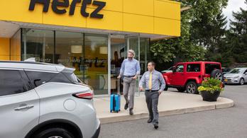 Csődközelben a Hertz autókölcsönző