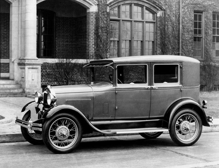 Egy eredeti Ford Model A Amerikában