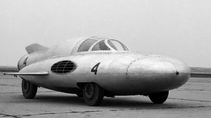GAZ Strela 4 sebességi rekorder