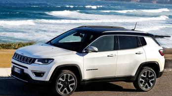 Új benzinmotorokat kap a Jeep Compass