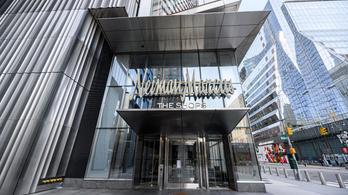 Csődbe ment a Neiman Marcus luxusáruházlánc