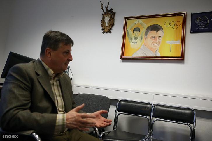 Magyar Zoltán a 2013-as interjún