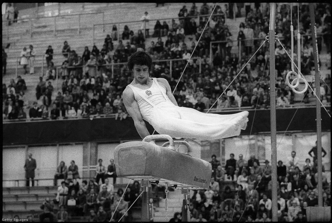 Magyar Zoltán a 1975-ös torna Eb-n Bernben