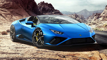 Ez itt a legújabb Lamborghini