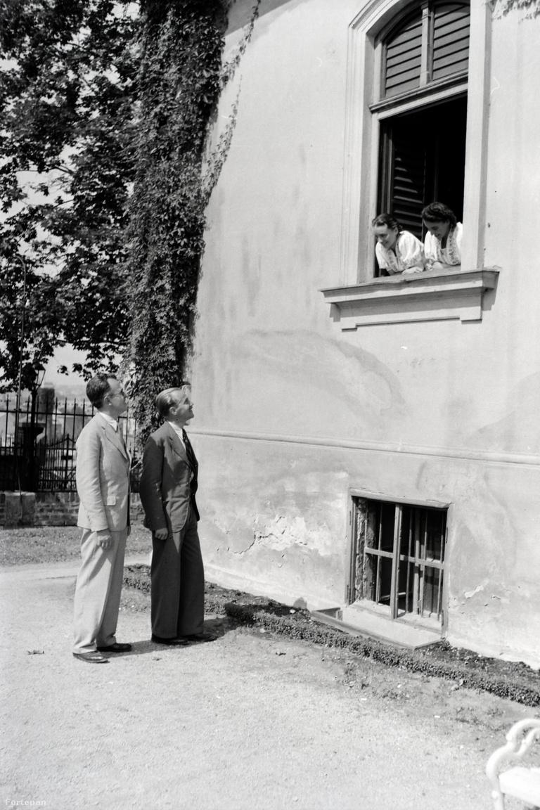 1938. Magyarország,Budapest XI. Ménesi út (Nagyboldogasszony útja) 45., Magyar Királyi Kertészeti Tanintézet.