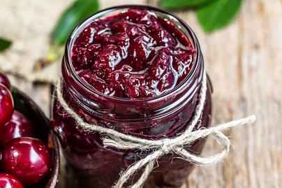 Savanykás cseresznyedzsem: tartósítószer nélkül készül