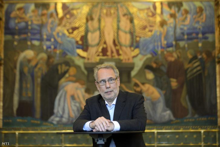 Madarász Iván Kossuth-díjas zeneszerző, az Artisjus elnöke