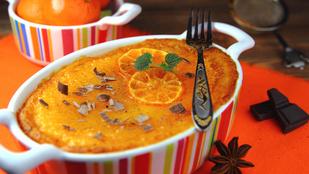 Két kedvencünk egy tálon: túrós narancsos-rizskoch