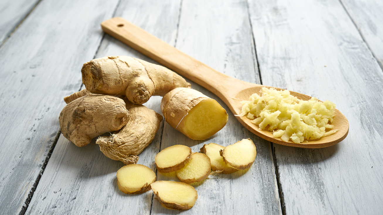 Csökkenti a gyulladást és a koleszterinszintet is: 9 jótékony hatású étel a sokoldalú gyömbérrel