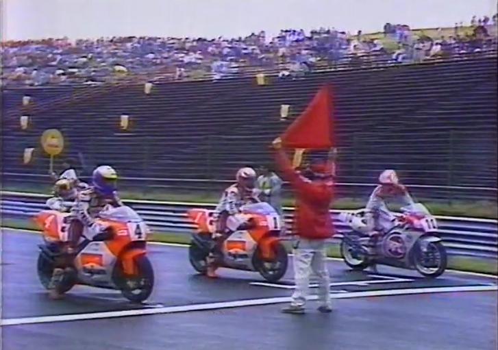 A rajt pillanata az 1992-es Magyar Nagydíjon