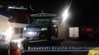 Az utóbbi idők legnagyobb magyar autólopás-sorozatát derítették fel