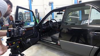 A MűhelyPRN-Mercedes ügye a rendőrségen