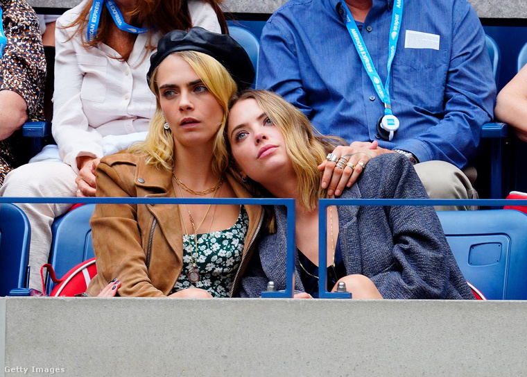 Tavaly szeptemberben a US Open teniszversenyt is megtekintették a közönség soraiból, bár Benson itt mintha nem a játékra koncentrálna.