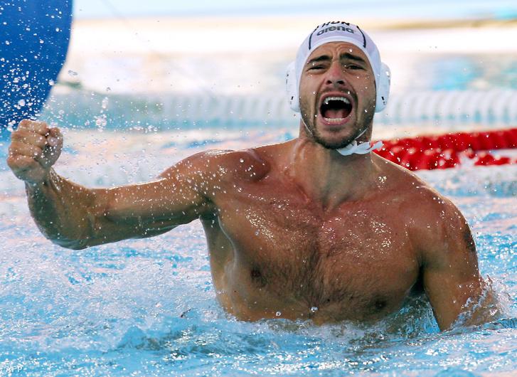 Benedek Tibor az athéni olimpián 2004. augusztus 27-én