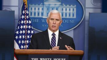 Mike Pence közvetlen beosztottjánál is kimutatták az új koronavírust