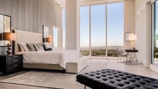 Ebben a luxus-felhőkarcolóban bérel lakást Vajna Tímea