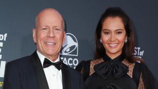 Bruce Willis felesége bebizonyította, hogy mégsem ment tönkre a házasságuk