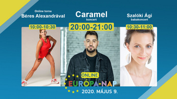 Online torna, virtuális tárlatvezetés és erkélybuli az EU születésnapján