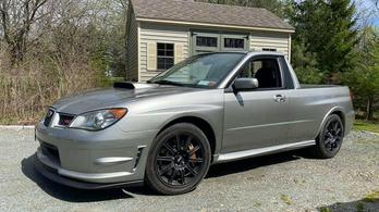 Kevés olyan kívánatos autó van, mint a Subaru WRX pickup