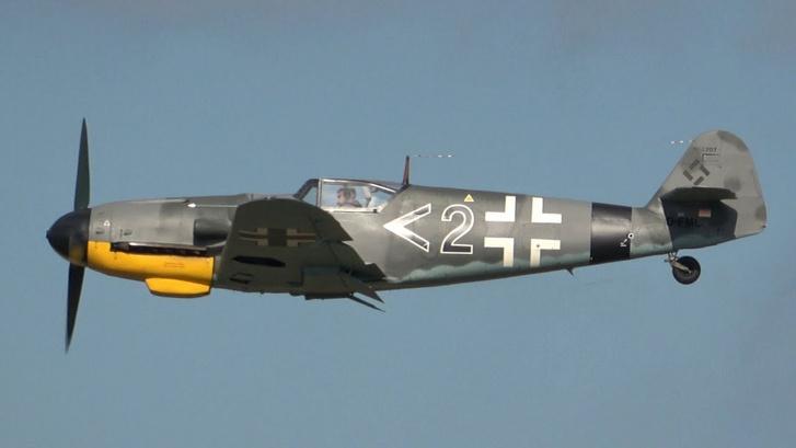 A Messerschmitt Bf-109 G