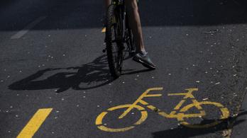 Kerékpársáv lesz a budapesti Villányi úton
