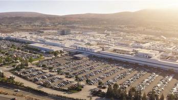 Elon Musk szembeszállt a hatósággal, elindította a Tesla gyárat