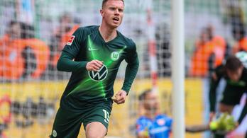 Arccsontját törte a Wolfsburg német válogatott játékosa