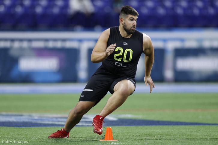 Matt Hennessy a 2020-as NFL combine-on