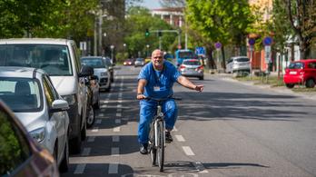 Soha nem bicikliztek annyian Budapesten, mint szombaton