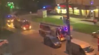 Tíz ember meghalt egy orosz illegális idősotthonban kitört tűzben