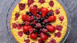 Isteni egészségtudatos torta kölesből: glutén-, tej- és cukormentesen