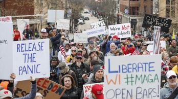 A karantén ellen tüntettek, majd 70-nél is többen kapták el a vírust