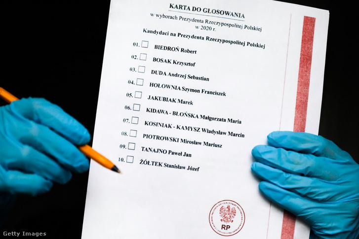 A kiszivárogtatott választási dokumentumok fénymásolata