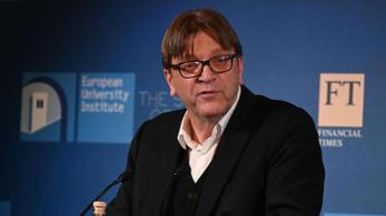 Verhofstadt: Hitler óta nem látott Európa ilyen fellépést