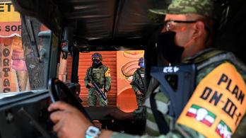 Továbbra is maradnak az utcán a katonák Mexikóban